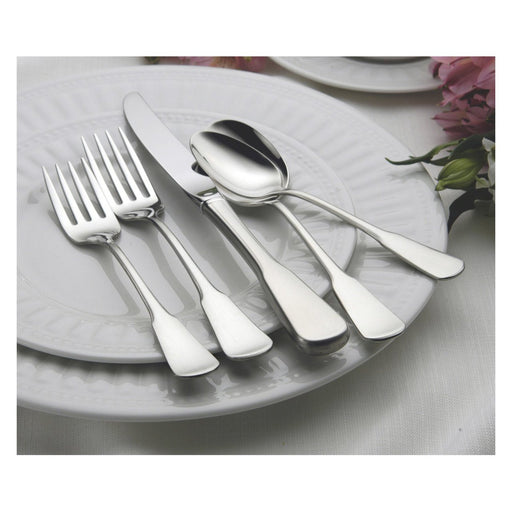 Oneida Colonial Boston 77 Piece Casual Flatware Set, Service for 12 with Extra Teaspoons - Extra 30% Off Code FF30 - Finest Flatware