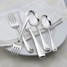 Oneida Compose 46 Piece Fine Flatware Set, Service for 8 | Extra 30% Off Code FF30 | Finest Flatware