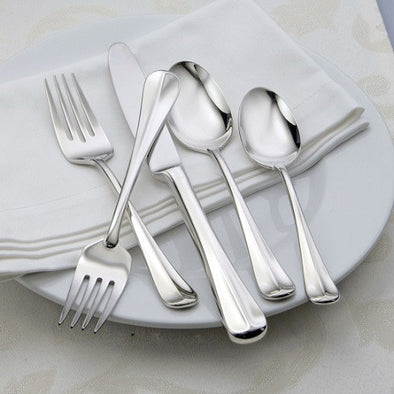 Oneida Compose 45 Piece Fine Flatware Set, Service for 8 | Extra 30% Off Code FF30 | Finest Flatware