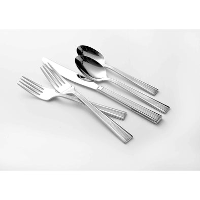 Oneida Corbett 114 Piece 18/10 Stainless Fine Flatware Set, Service for 12 | Extra 30% Off Code FF30 | Finest Flatware