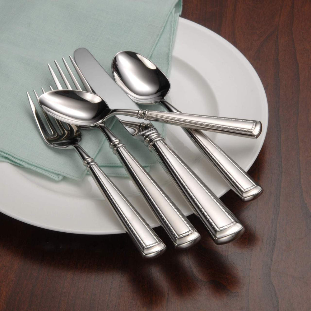 Oneida Couplet 5 Piece Fine Flatware Set, Service for 1 | Extra 30% Off Code FF30 | Finest Flatware