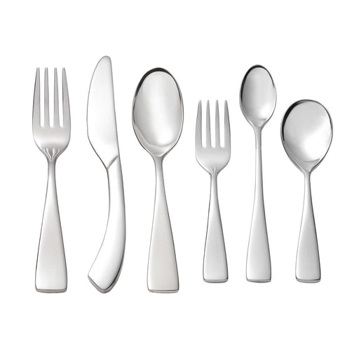 Set of 2 Oneida Curva 6 Piece Child & Baby 18/10 Stainless Flatware Set | Extra 30% Off Code FF30 | Finest Flatware