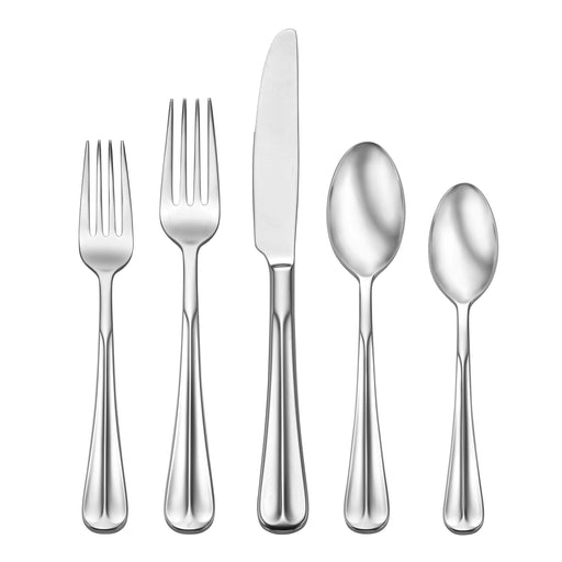 Oneida 89 Piece Dartford 18/10 Stainless Fine Flatware Set, Service for 12 | Extra 30% Off Code FF30 | Finest Flatware