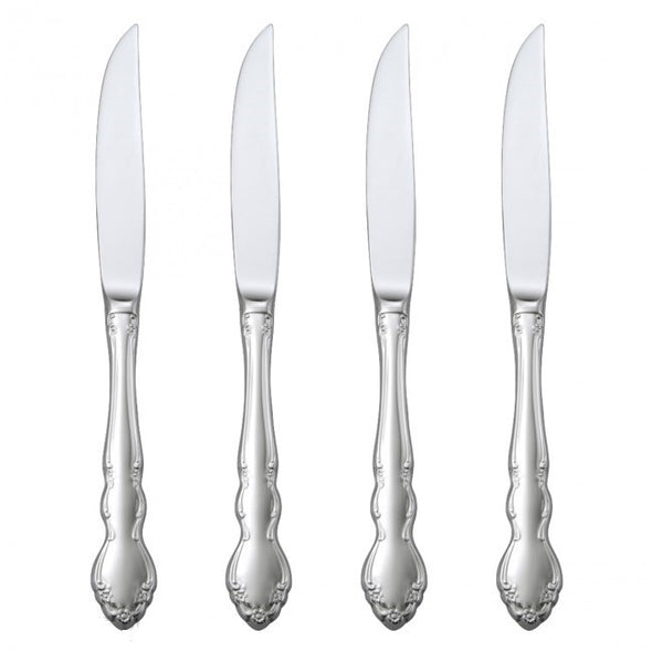 Oneida Dover Set of 4 Steak Knives | Extra 30% Off Code FF30 | Finest Flatware