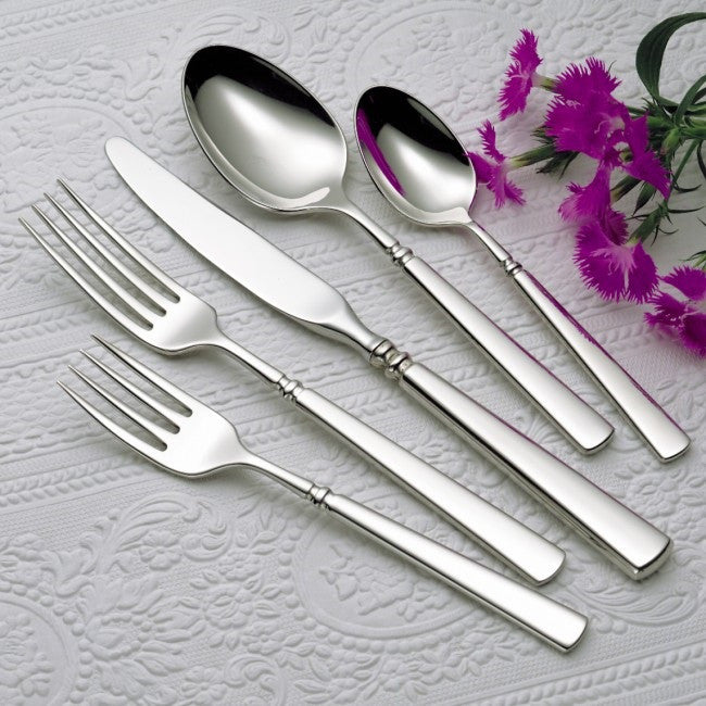 Oneida Easton 46 Piece Fine Flatware Set, Service for 8 - Finest Flatware - Extra 30% Off Code FF30