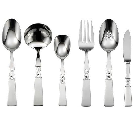 Oneida Embrace 46 Piece Fine Flatware Set, Service for 8 | Extra 30% Off Code FF30 | Finest Flatware