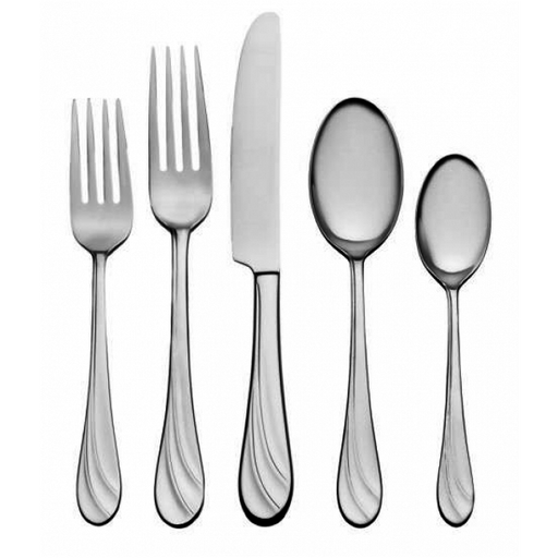 Oneida Fiorella 65 Piece Fine Flatware Set, Service for 12 | Extra 30% Off Code FF30 | Finest Flatware