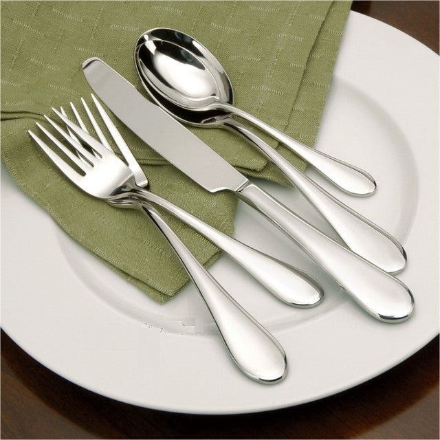Oneida Icarus 65 Piece Casual Flatware Set, Service for 12 - Finest Flatware - Extra 30% Off Code FF30