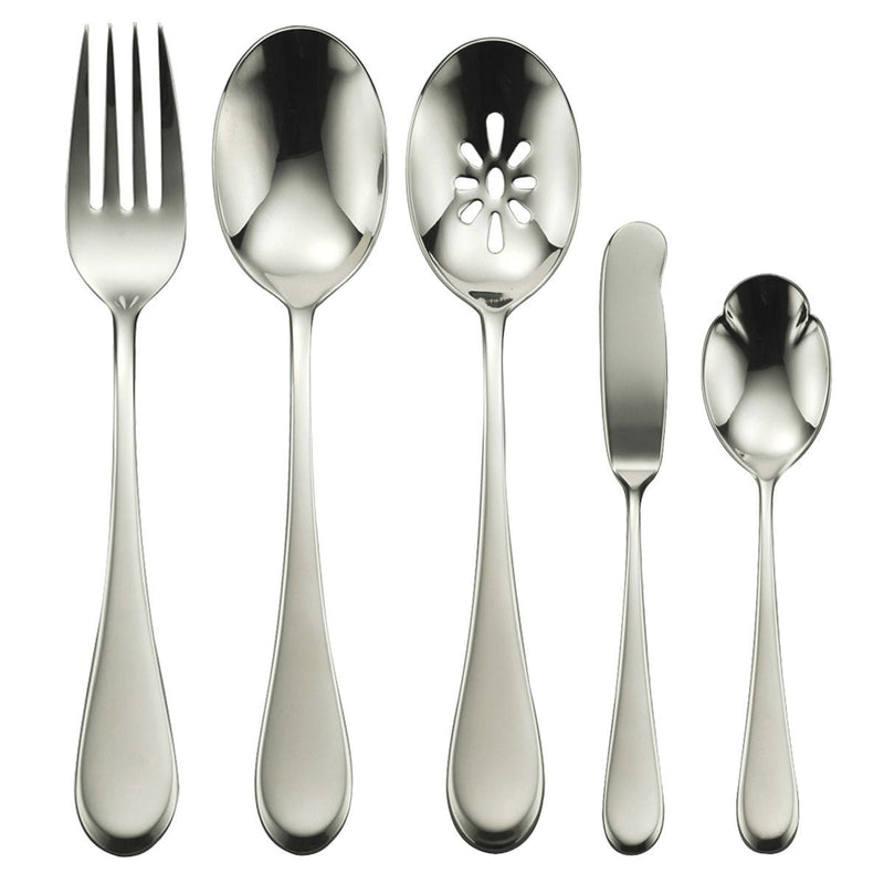 Oneida Icarus 45 Piece Casual Flatware Set, Service for 8 - Finest Flatware - Extra 30% Off Code FF30