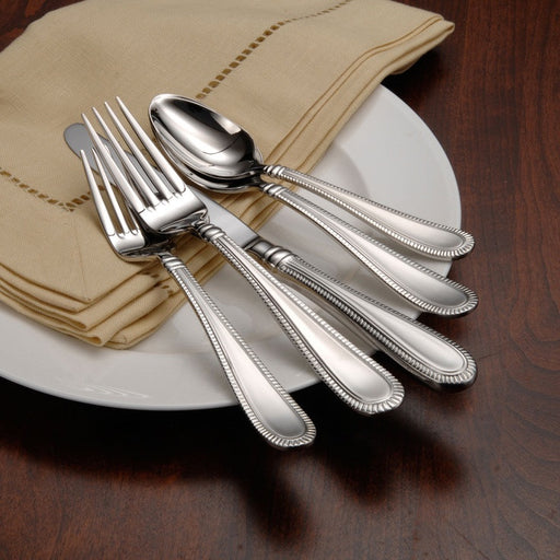 Oneida Interlude 48 Piece Fine Flatware Set, Service for 8 | Extra 30% Off Code FF30 | Finest Flatware