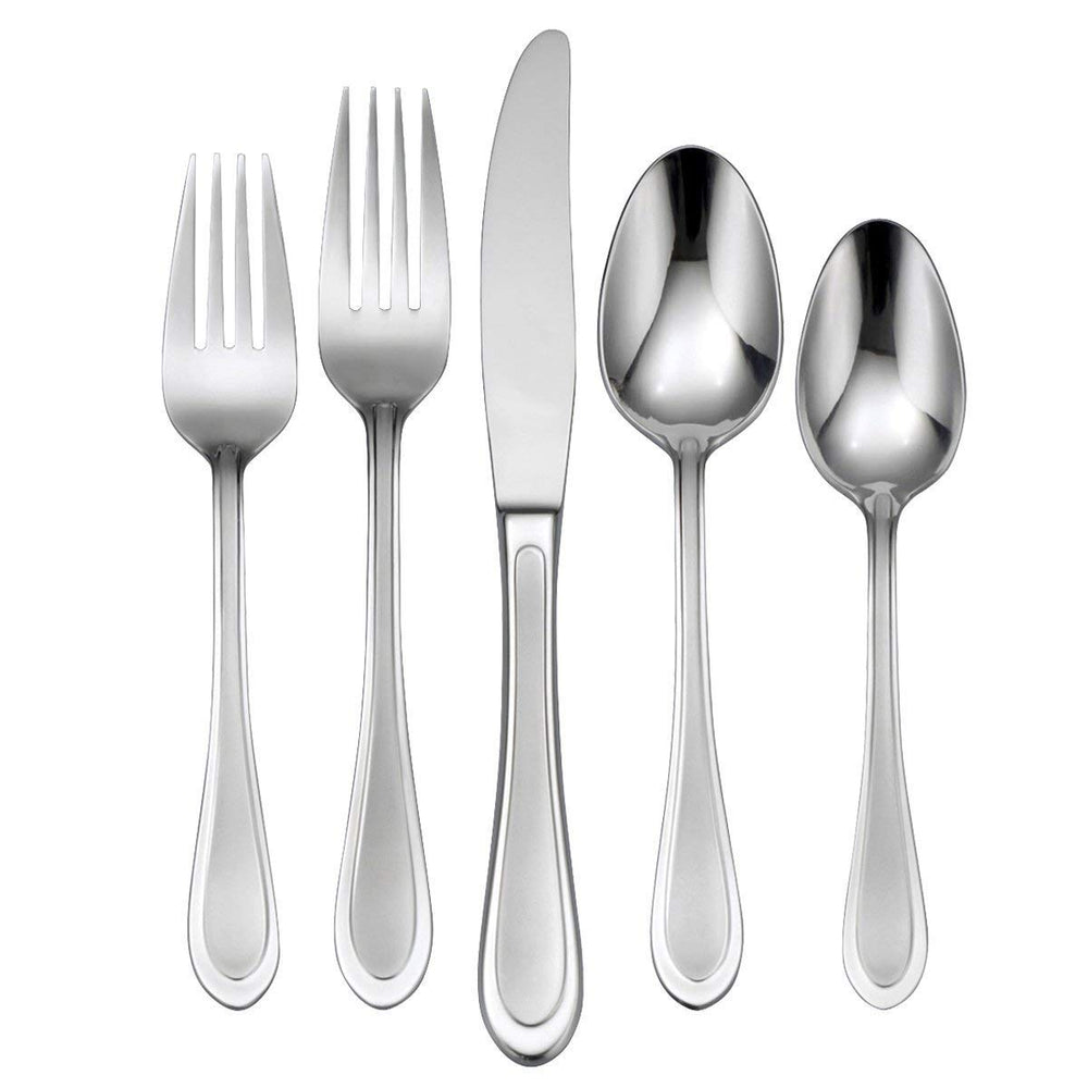 Oneida Joann 45 Piece Casual Flatware Set, Service for 8 | Extra 30% Off Code FF30 | Finest Flatware