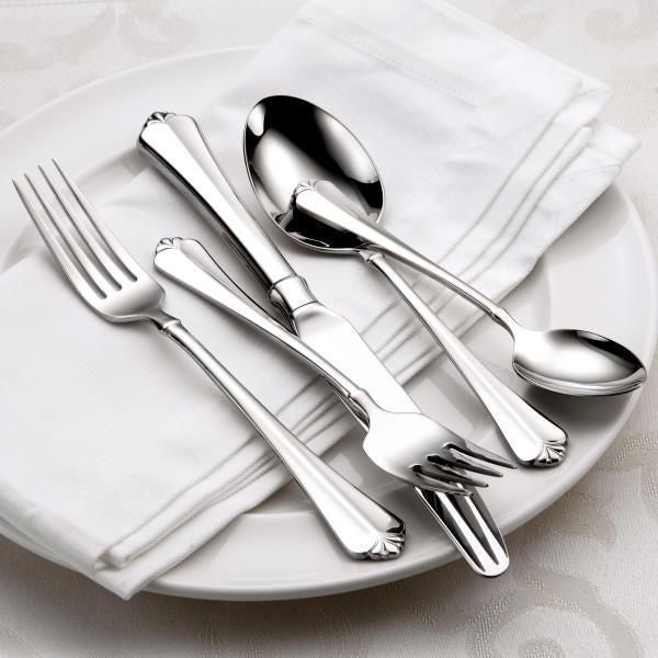 Oneida Juilliard 46 Piece Fine Flatware Set, Service for 8 - Finest Flatware - Extra 30% Off Code FF30