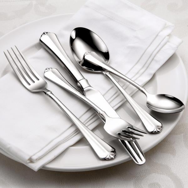 Oneida Juilliard 5 Piece Fine Flatware Set, Service for 1 | Extra 30% Off Code FF30 | Finest Flatware