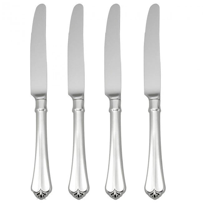 Oneida Juilliard Set of 4 Dinner Knives - Finest Flatware - Extra 30% Off Code FF30
