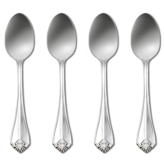Oneida King James Silverplate Set of 4 Teaspoons | Extra 30% Off Code FF30 | Finest Flatware
