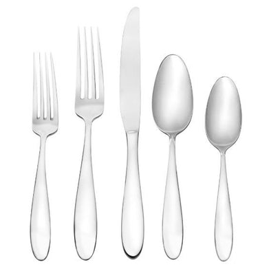 Oneida Landon 45 Piece Casual Flatware Set, Service for 8 | Extra 30% Off Code FF30 | Finest Flatware