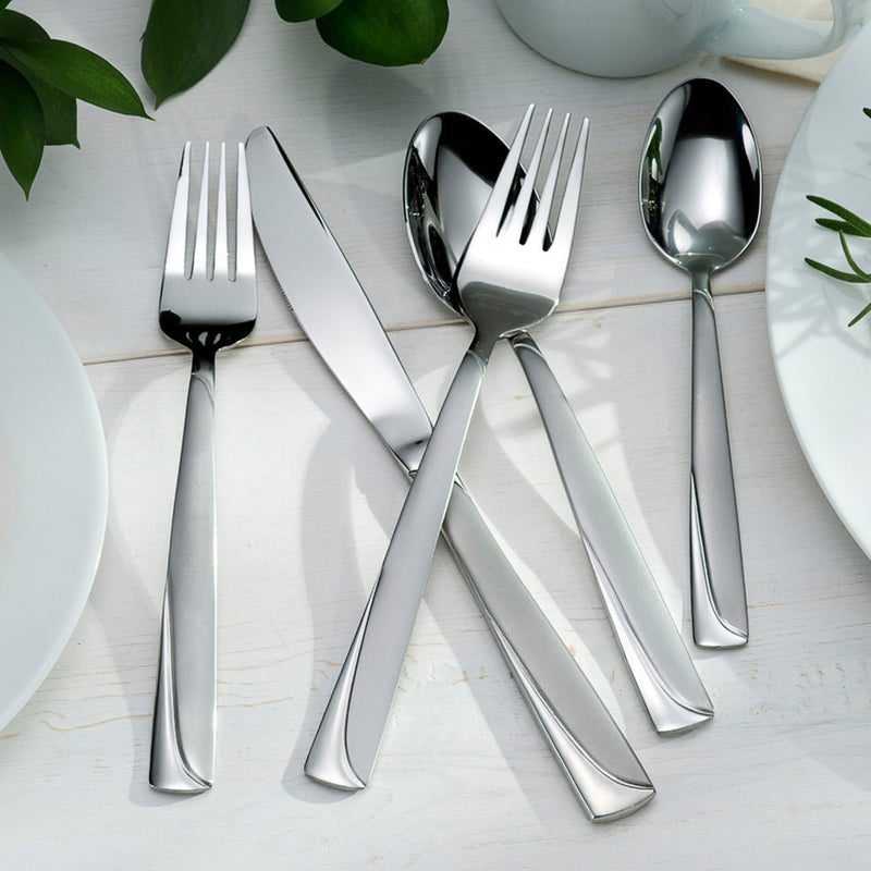Oneida Madeline 74 Piece Service for 12 Stainless Flatware Set - Extra 30% Off Code FF30 - Finest Flatware