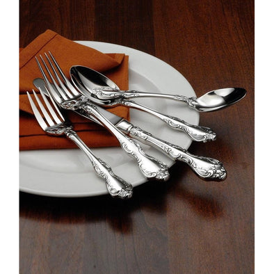 Oneida Mandolina 65 Piece Fine Flatware Set, Service for 12 with Wooden Caddy - Extra 30% Off Code FF30 - Finest Flatware