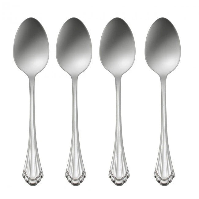 Oneida Marquette Set of 4 Teaspoons | Extra 30% Off Code FF30 | Finest Flatware