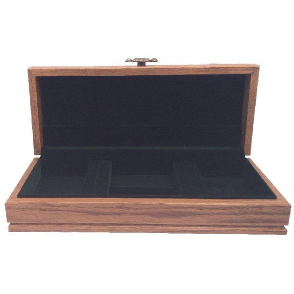 Men's Oak Jewelry Chest made by McGraw USA | Extra 20% Off Code FF20 | Finest Flatware