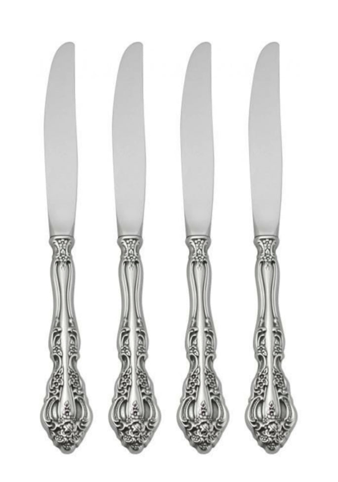 Oneida Michelangelo Dinner Knives Set 4