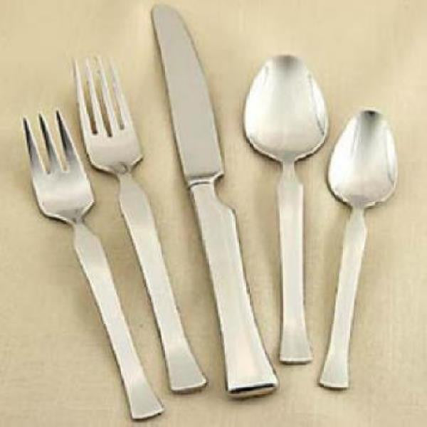 Oneida Mod 20 Piece Flatware Set, Service for 4 USA MADE | Extra 30% Off Code FF30 | Finest Flatware