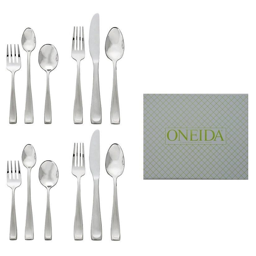Set of 2 Oneida Moda 6 Piece Child & Baby 18/10 Stainless Flatware Set | Extra 30% Off Code FF30 | Finest Flatware