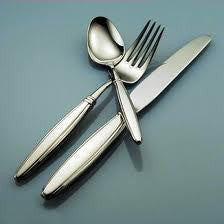 Oneida Octave 5 Piece Fine Flatware Set, Service for 1 - Finest Flatware - Extra 30% Off Code FF30