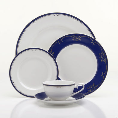 Oneida Louis XVI Fine China 5 Piece Place Setting | Extra 30% Off Code FF30 | Finest Flatware
