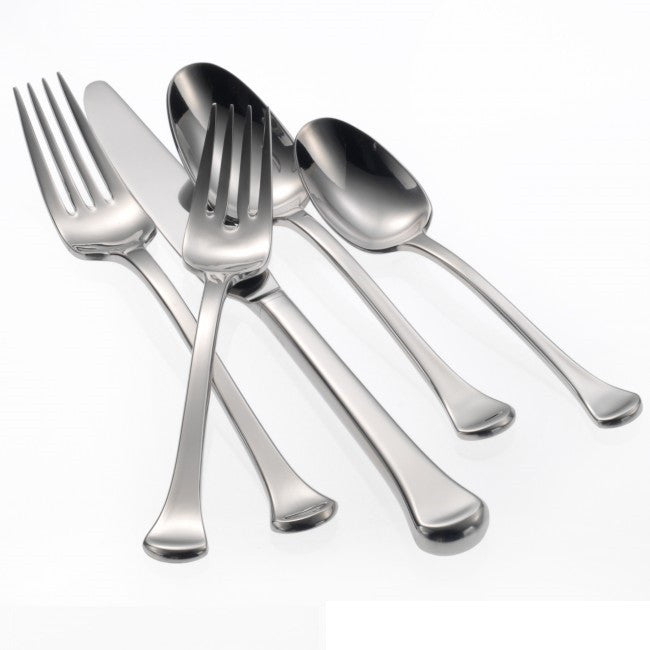Oneida Othenia 5 Piece Fine Flatware Set, Service for 1 | Extra 30% Off Code FF30 | Finest Flatware