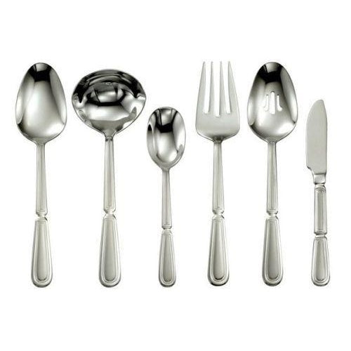 Oneida Pallatian 6 Piece Hostess & Serving Set - Finest Flatware - Extra 30% Off Code FF30