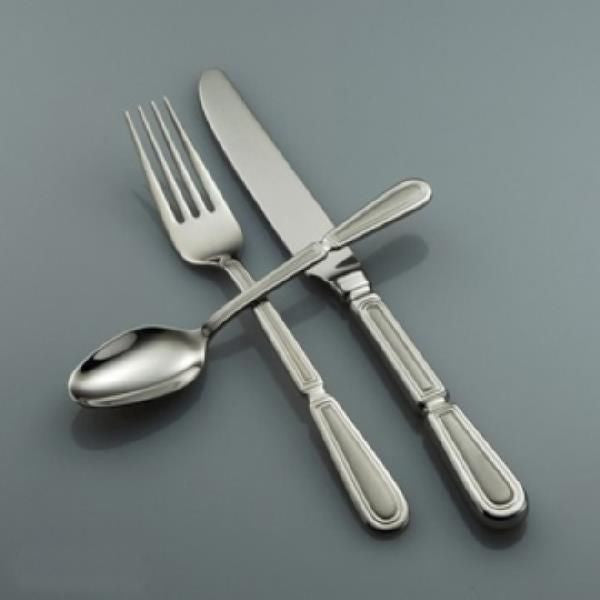 Oneida Pallatian 5 Piece Fine Flatware Set, Service for 1 - Finest Flatware - Extra 30% Off Code FF30