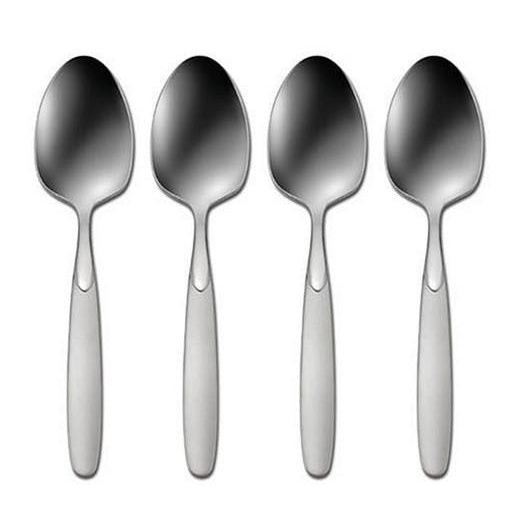 Oneida Paradox Set of 4 Dinner / Oval Bowl Soup Spoons | Extra 30% Off Code FF30 | Finest Flatware