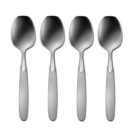 Oneida Paradox Set of 4 Sugar Spoons | Extra 30% Off Code FF30 | Finest Flatware