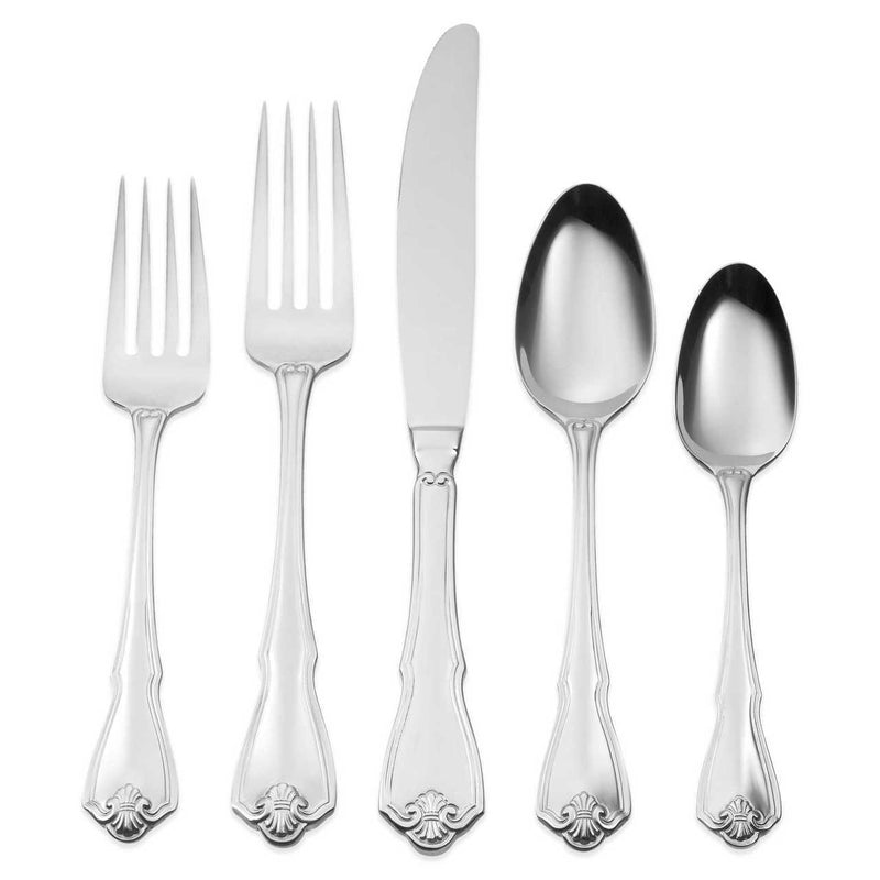 Oneida Pinta 45 Piece Casual Flatware Set, Service for 8 - Extra 30% Off Code FF30 - Finest Flatware