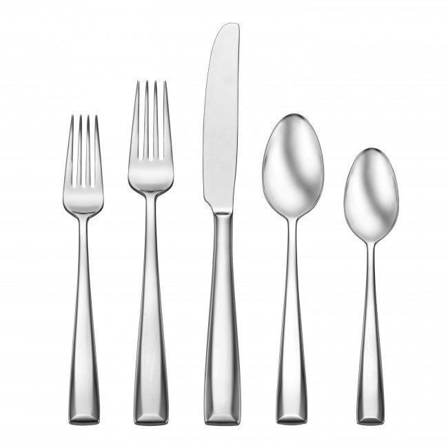 Oneida 89 Piece Prime 18/10 Stainless Fine Flatware Set, Service for 12 | Extra 30% Off Code FF30 | Finest Flatware