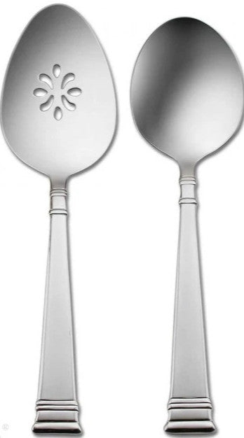 Oneida Prose 2 Piece Entertainment Set - Finest Flatware - Extra 30% Off Code FF30