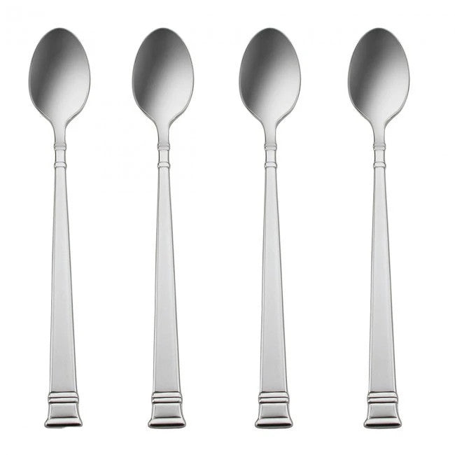 Oneida Prose Set of 4 Iced Tea Spoons - Finest Flatware - Extra 25% Off Code FLASH25