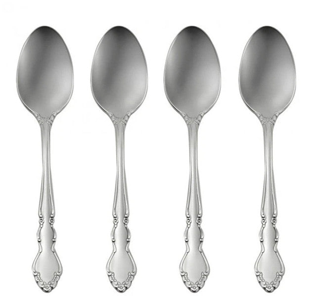 Oneida Dover Set of 4 Teaspoons | Extra 30% Off Code FF30 | Finest Flatware
