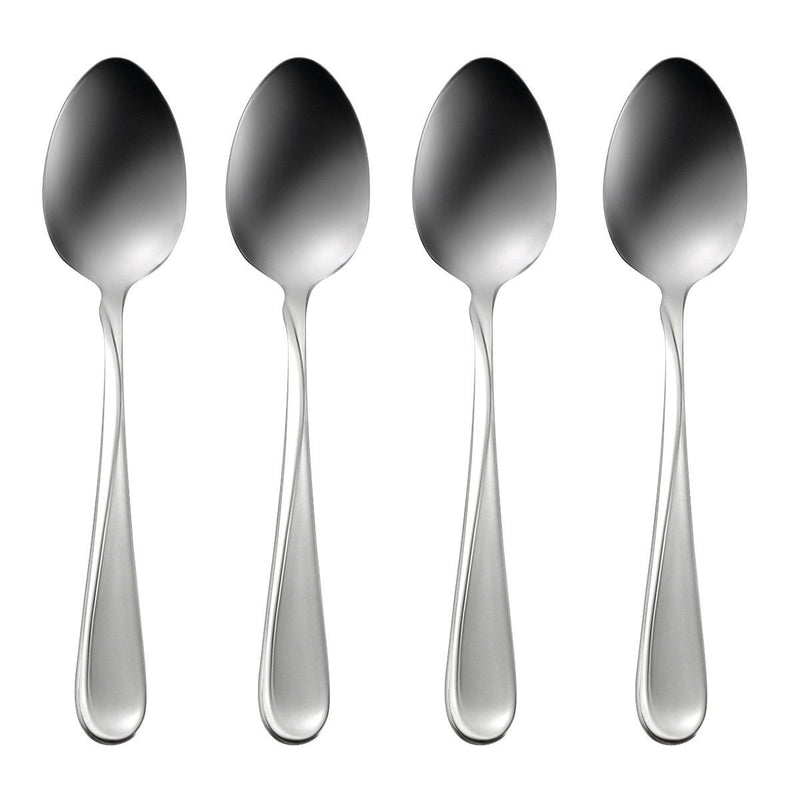 Oneida Satin Flight Set of 4 Teaspoons - Extra 30% Off Code FF30 - Finest Flatware