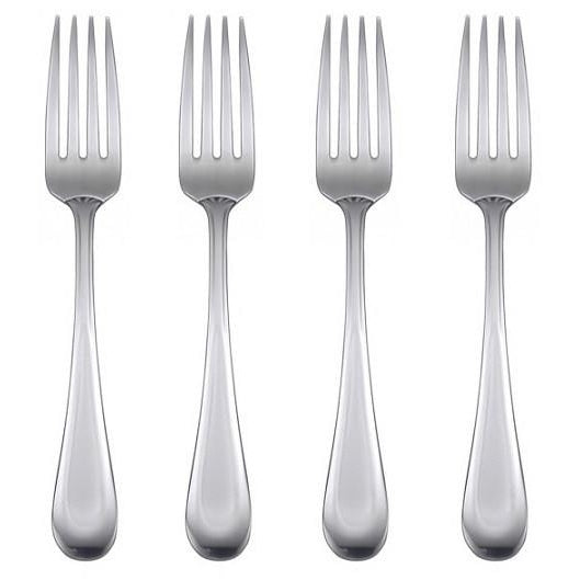 Oneida Satin Sand Dune Set of 4 Dinner Forks | Extra 30% Off Code FF30 | Finest Flatware