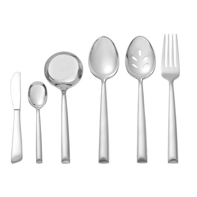 Oneida Satin Urbana 6 Piece Hostess and Serving Set - Extra 30% Off Code FF30 - Finest Flatware