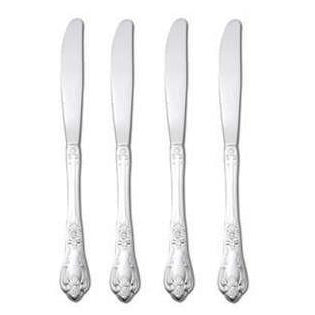 Oneida Vanessa Set of 4 Dinner Knives 18/8 Stainless | Extra 30% Off Code FF30 | Finest Flatware
