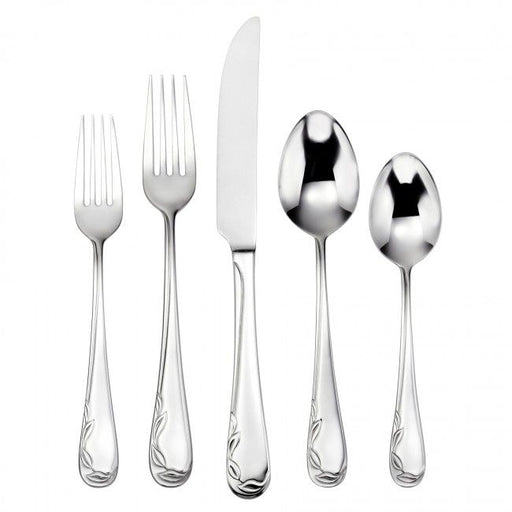 Oneida 90 Piece Vinca 18/10 Stainless Fine Flatware Set, Service for 12 | Extra 30% Off Code FF30 | Finest Flatware
