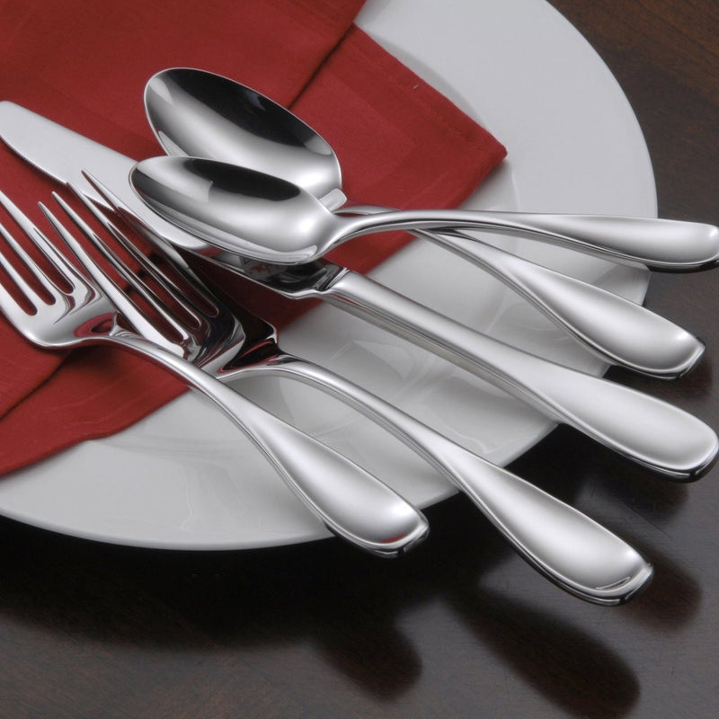 Oneida Voss 45 Piece Casual Flatware Set, Service for 8 - Finest Flatware - Extra 30% Off Code FF30