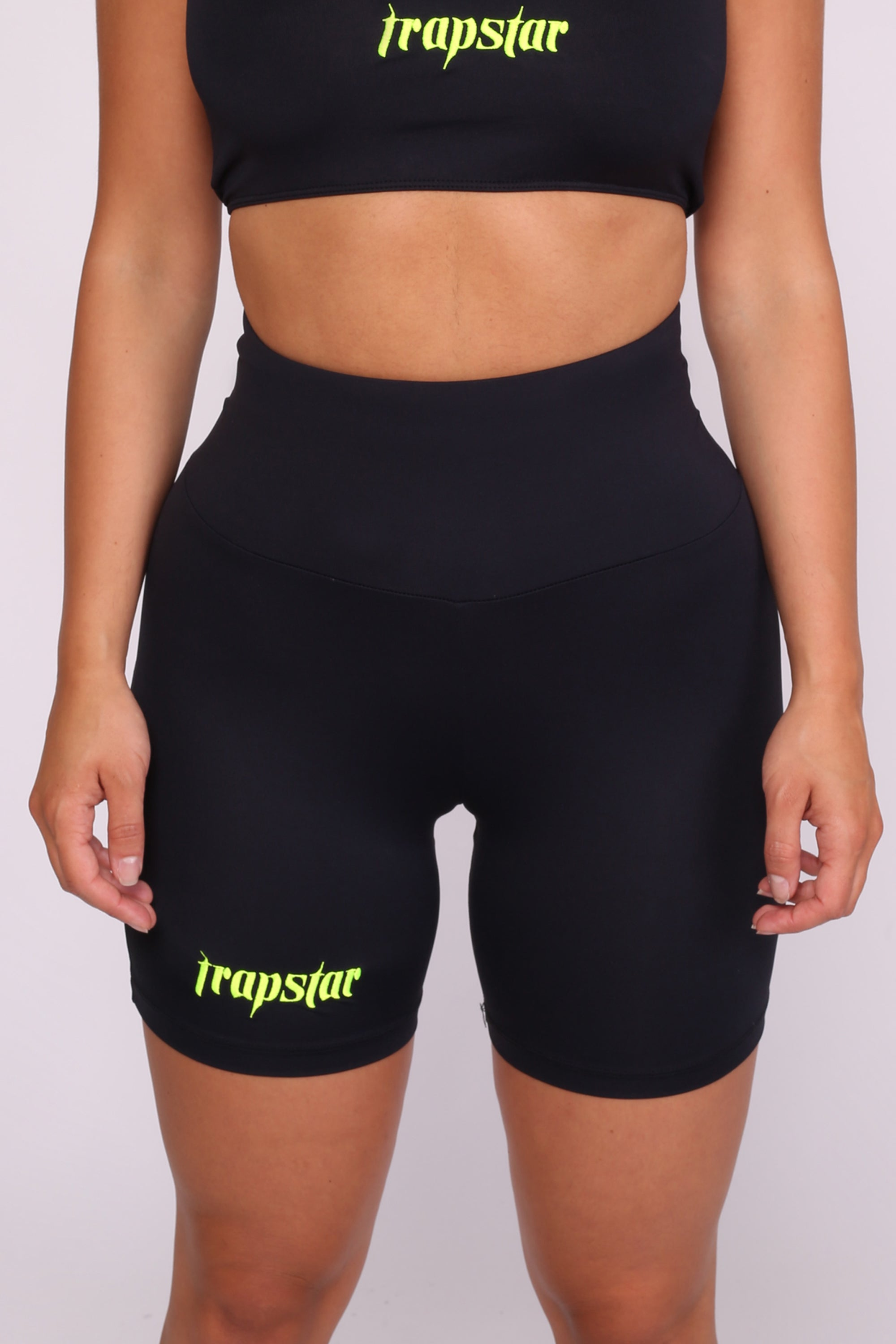 Womens Ironblade Cycling Shorts - Black