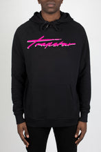 Load image into Gallery viewer, Signature Hoodie - Black/Neon Pink