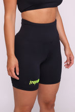 Load image into Gallery viewer, Womens Ironblade Cycling Shorts - Black