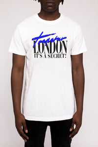 Trapstar London Tee - White/Blue