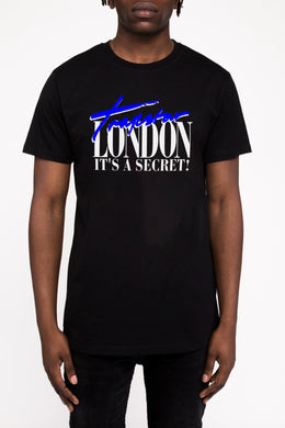 Trapstar London Tee - Black/Blue